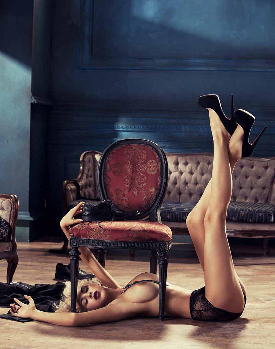 Наталья Кальчук в журнале Playboy Украина, октябрь 2014