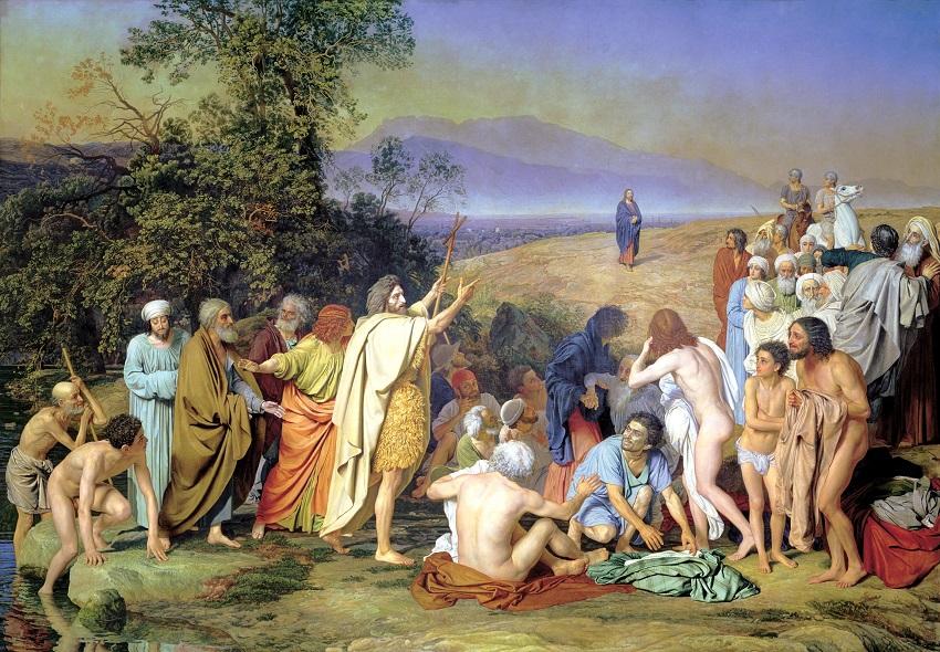 Иоанн Креститель приветствует Иисуса, идущего на Крещение. «Явление Христа народу» («Явление Мессии») — картина русского художника Александра Андреевича Иванова