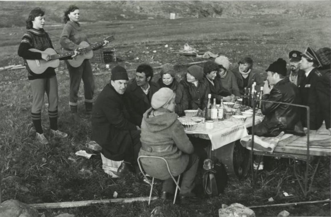 1966. На Колыме