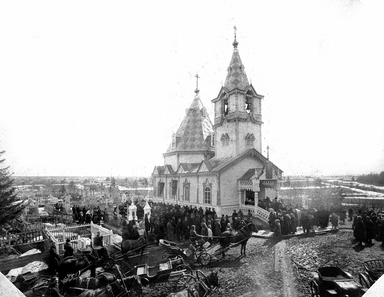 Всехсвятская кладбищенская церковь