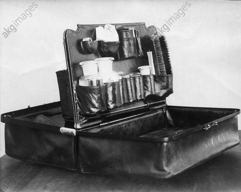 Instrumente zur Daktyloskopie - Fingerprinting equipment -