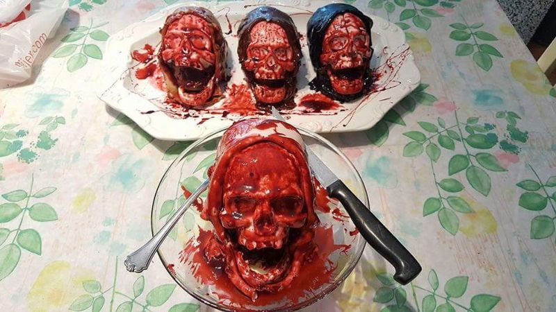 Жуткие торты от кулинара, любящего фильмы ужасов