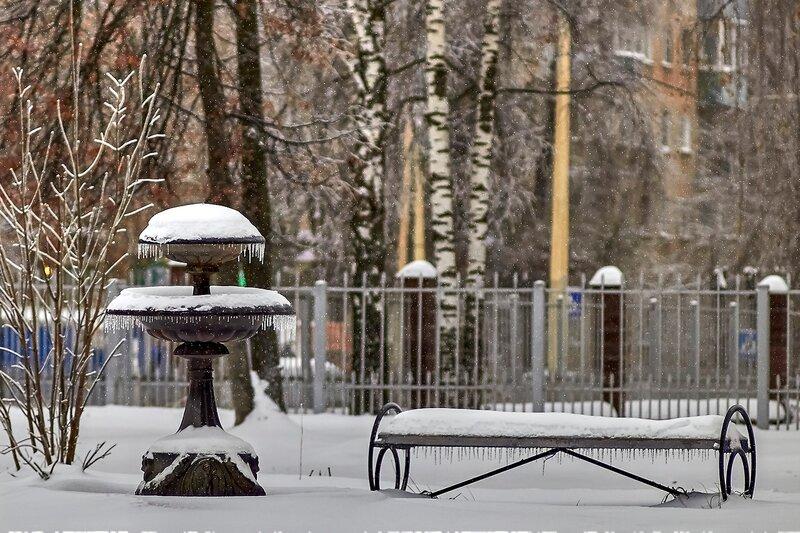 Погода - не фонтан