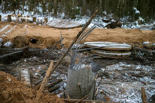 Не конец света. Как в районе падения ЛЭП в Тверской области сражались с тьмой / фоторепортаж
