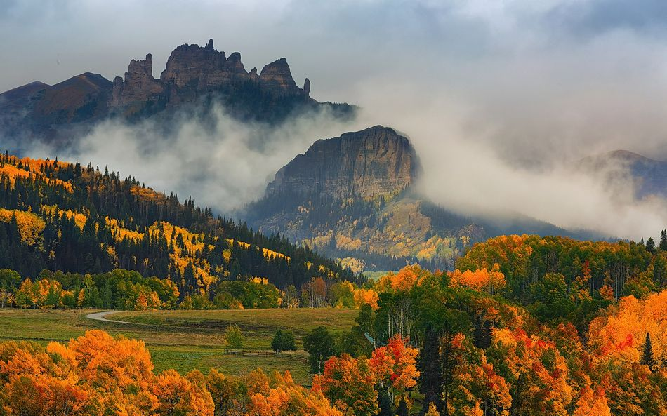 Красивые обои осень