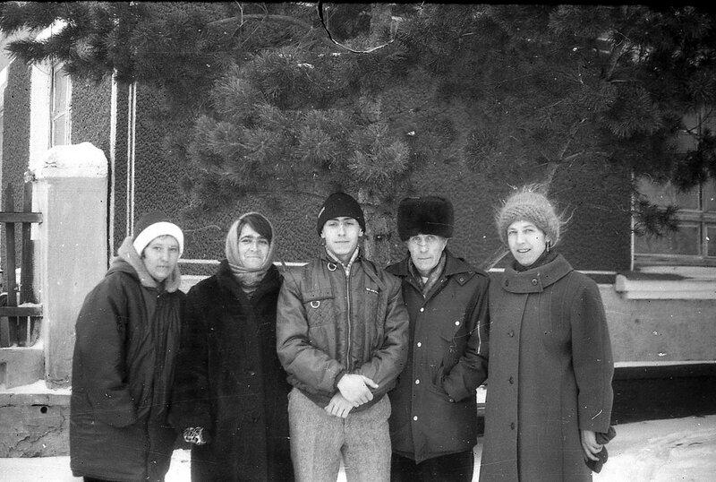 Проводы в армию.1995 год.