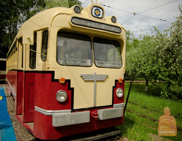 Грозный трамвай из прошлого