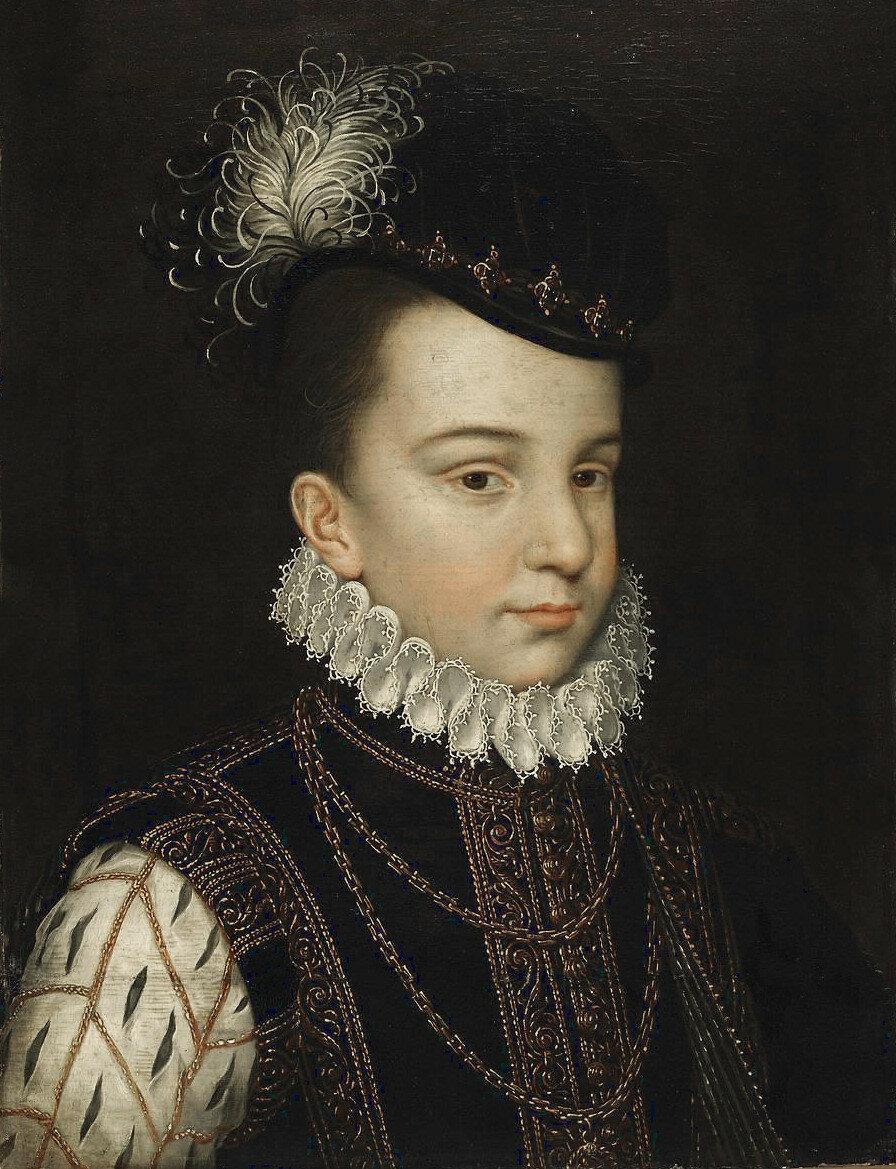 Мастерская. Франсуа-Эркюль Французский, герцог Алансонский, позднее Анжуйский_ок.1560_33 х 22_д.,м._ Лувр.jpg