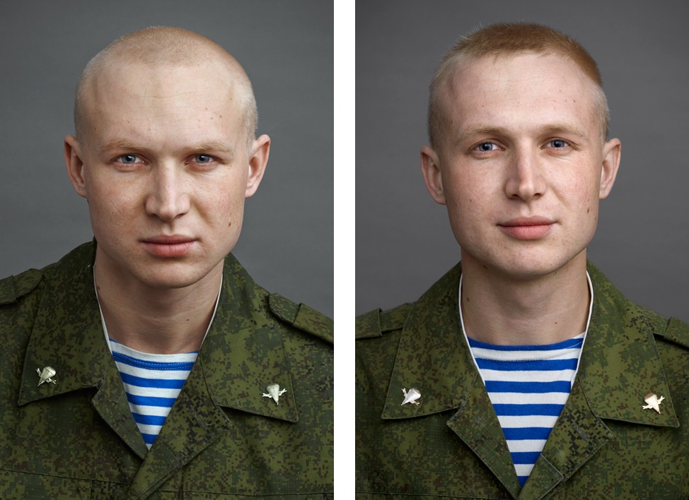 Портреты солдат до и после армии (11 фото)
