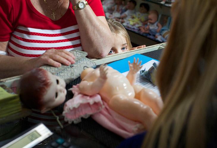 2. Основанная в 1913 году Гарольдом Чепменом и управляемая его внуком Джеффом, больница для кукол в