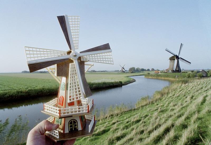 30. Мельницы в Голландии.