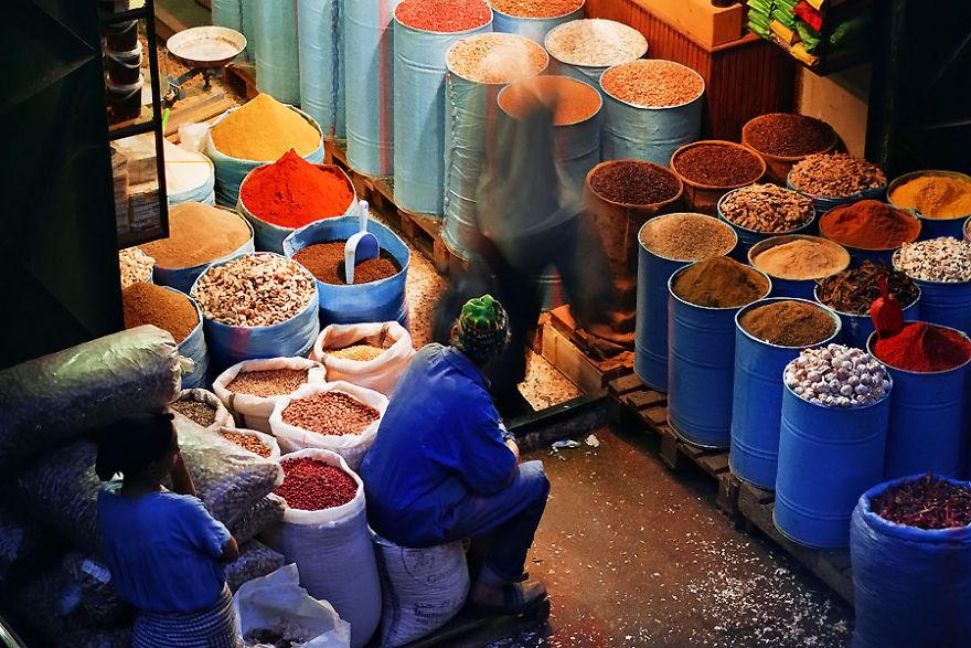 Медина в Фесе, Марокко.