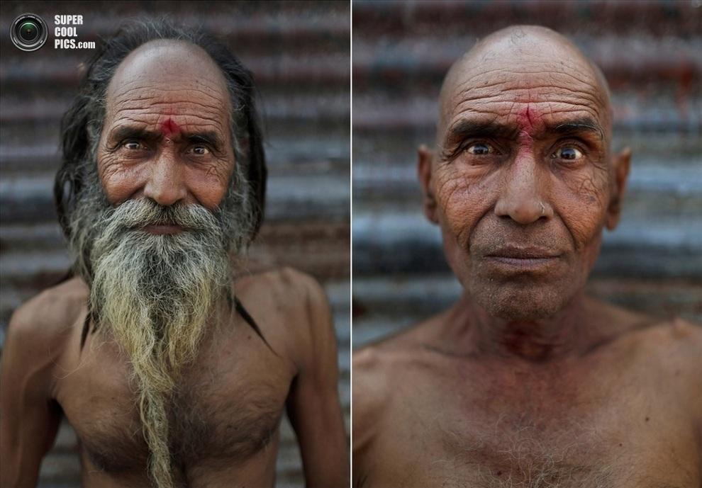 Баба Рамшвал. (AP Photo/Kevin Frayer)
