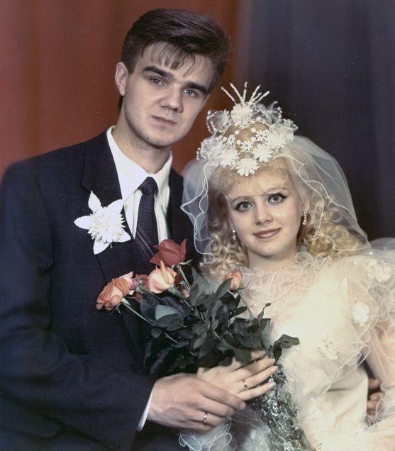 8. Наталья Ветлицкая и Женя Белоусов (оба певцы), 1989 год