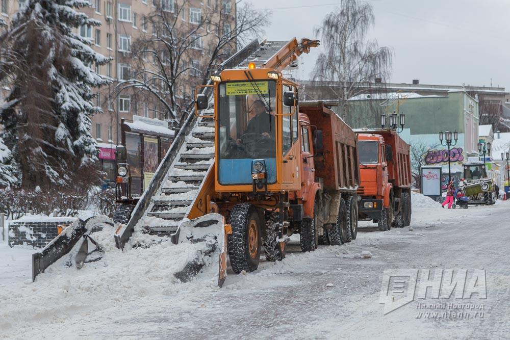 Науборку снега вНижнем Новгороде будет выделено неменее млрд. руб.
