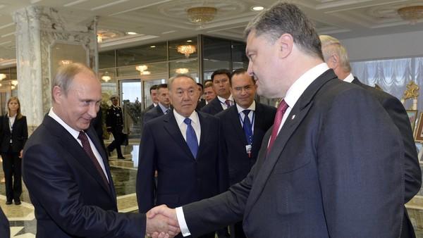 ТолькоРФ поддержала Порошенко ввопросе вооружения миссии ОБСЕ— Путин