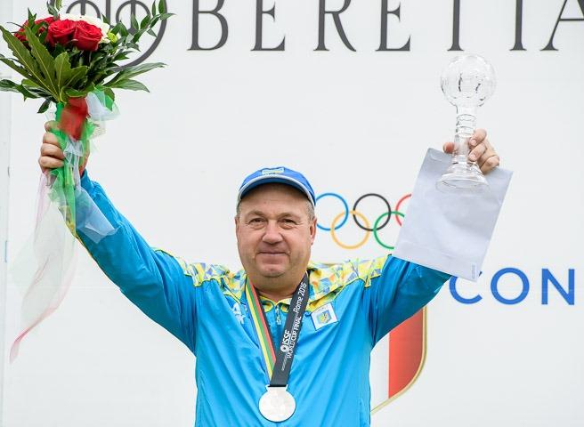 Стрелок Мильчев признан лучшим спортсменом октября вУкраинском государстве