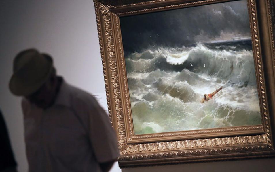 Третьяковская галерея продлит дополуночи время работы выставки «Иван Айвазовский»