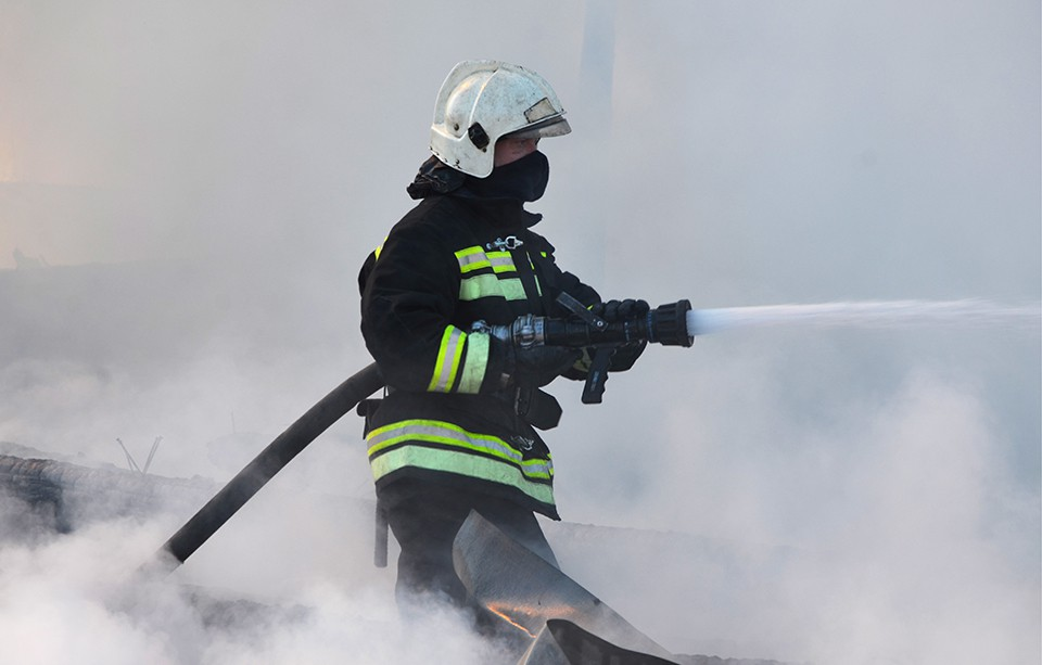 ВПушкинском районе Подмосковья пожар забрал жизни 2-х человек