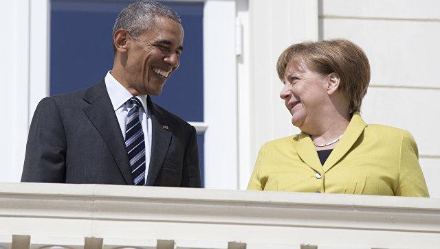 Обама иМеркель проведут неформальную встречу вБерлине