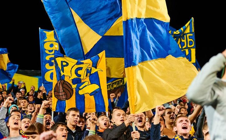 Кматчу «Ростов»— «Бавария» выпустили шарфы сошибками