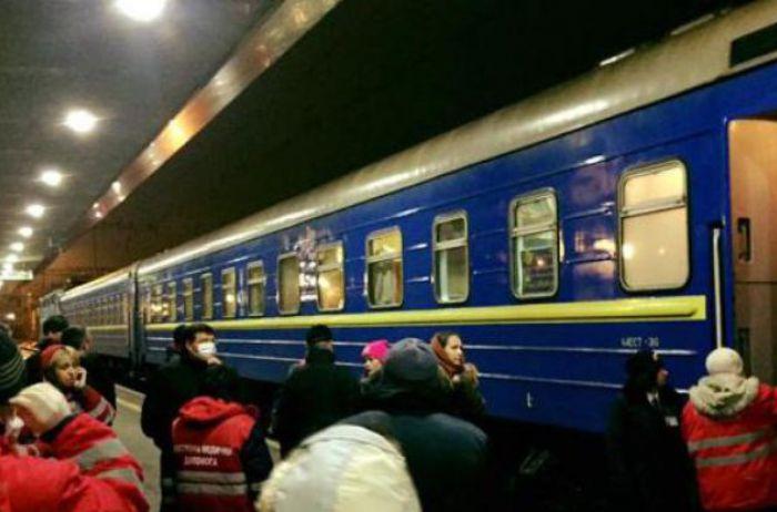 Скиевского вокзала забрали 18 детей сотравлением, трое втяжелом состоянии