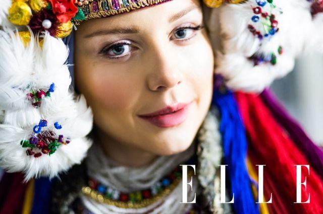 Тина Кароль примерила национальный украинский свадебный костюм вблаготворительной фотосессии— стильные истоки