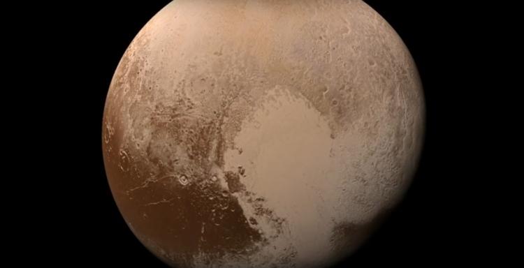 НАСА опубликовало цветной ролик «посадки» New Horizons наПлутон