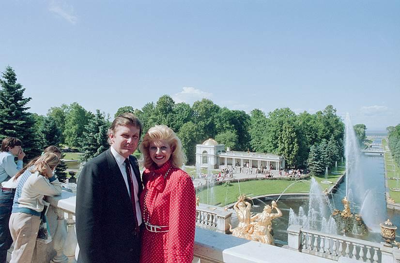 Петродворец. 1987