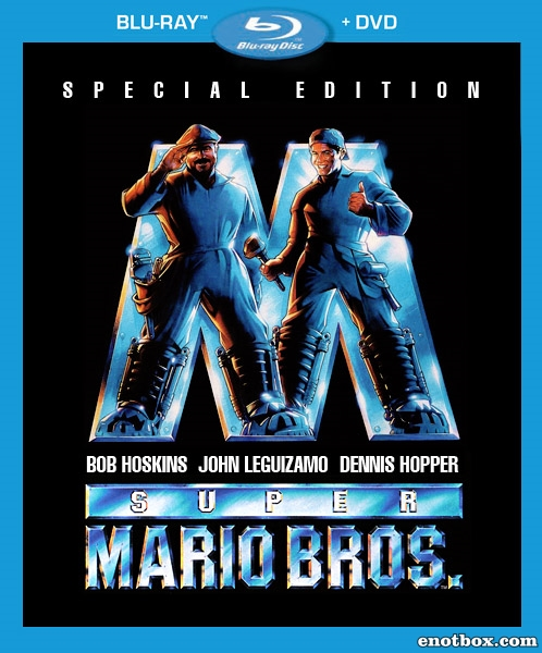 Супербратья Марио / Super Mario Bros. (1993/BDRip/HDRip)