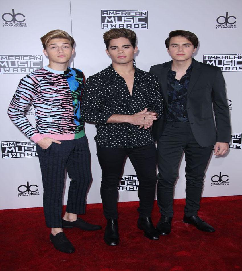 Ricky Garcia, Emery Kelly and Liam Attridge of Forever