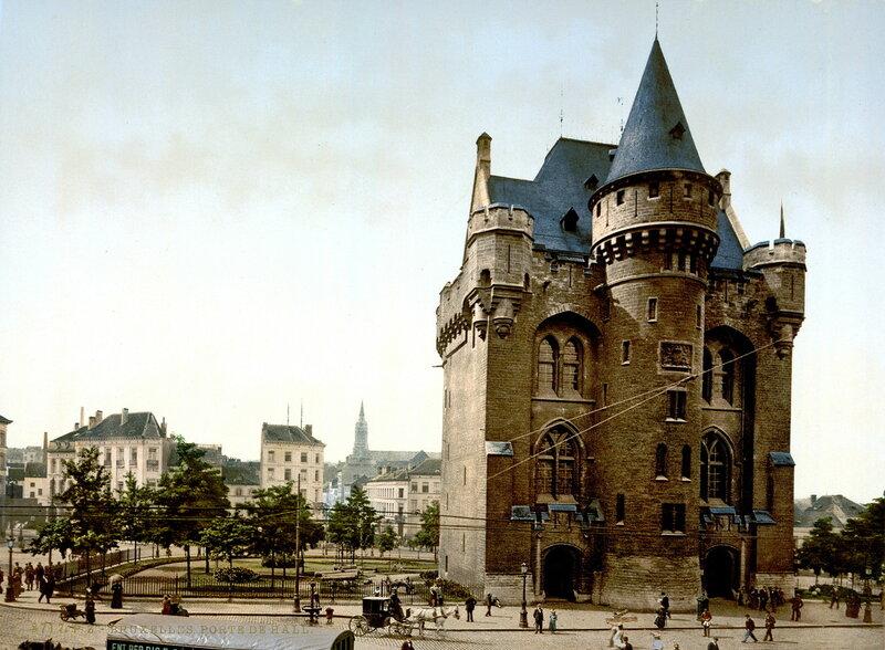 башня Халле (внутренняя сторона), конец XIX века