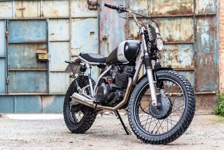 5 кастом-байков Yamaha SR250