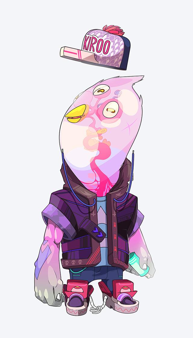 Unique illustrations by Andres ArizaMaquinita