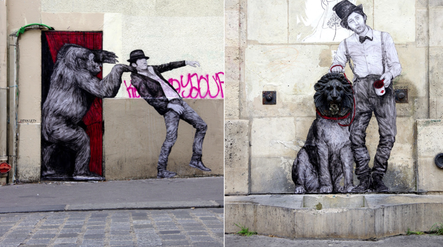 Playful Street-Art Creations in Paris (8 pics)