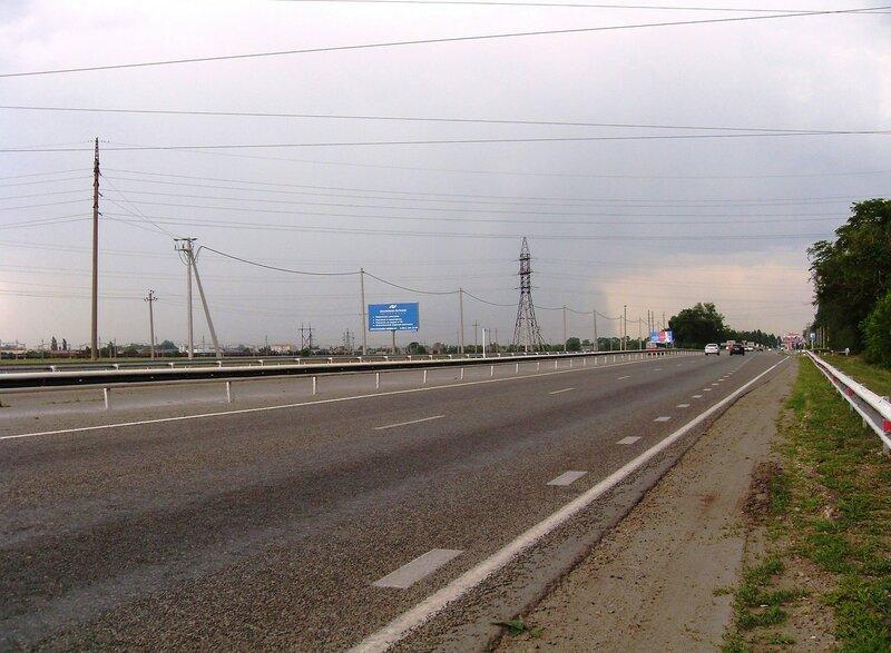 На дороге в центр Краснодара, июль, дождливая погода ...SDC13074.JPG