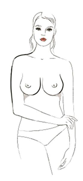 9 типов женской груди - Падающая слеза