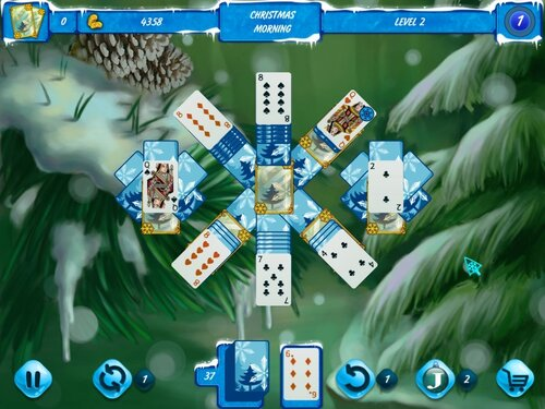 Solitaire Jack Frost Winter Adventures