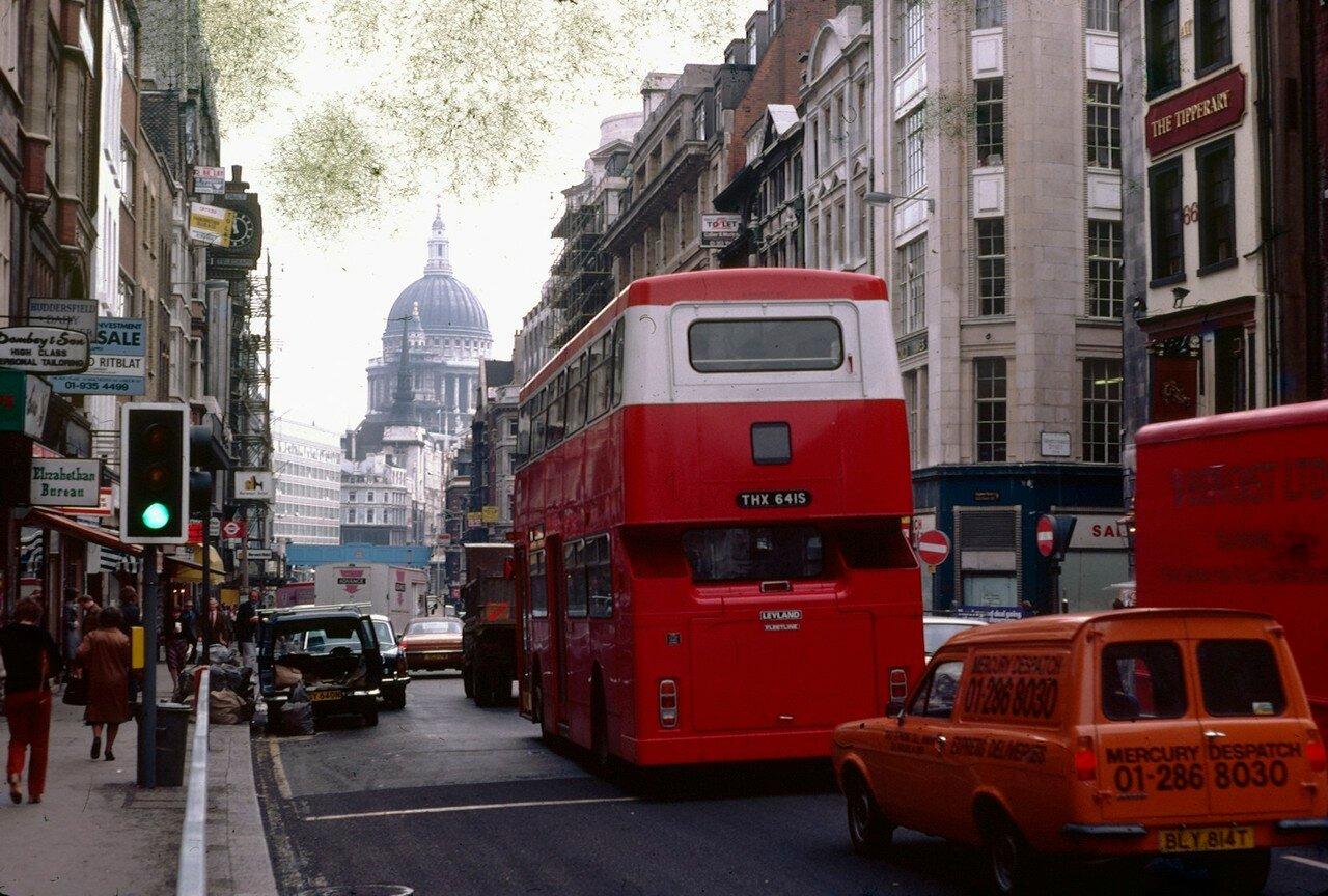 Лондон. Флит-стрит