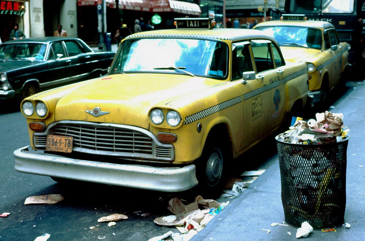 Нью-Йорк. Такси