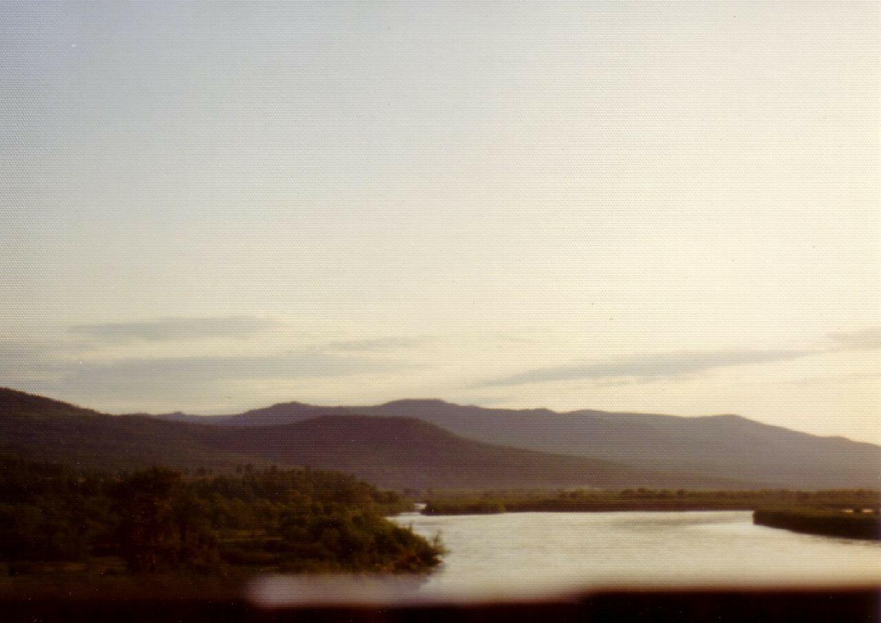 Селенга. Правый берег