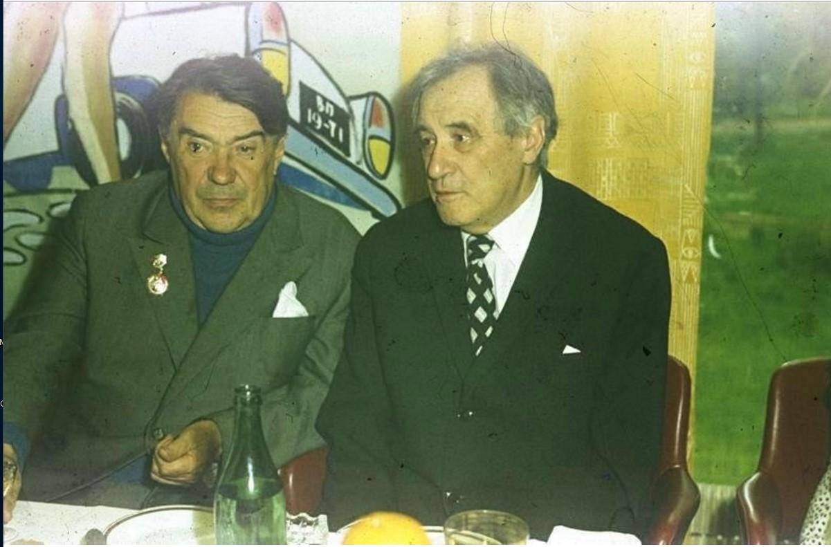 1972. 17 лет «Юности». Валентин Катаев и Борис Полевой