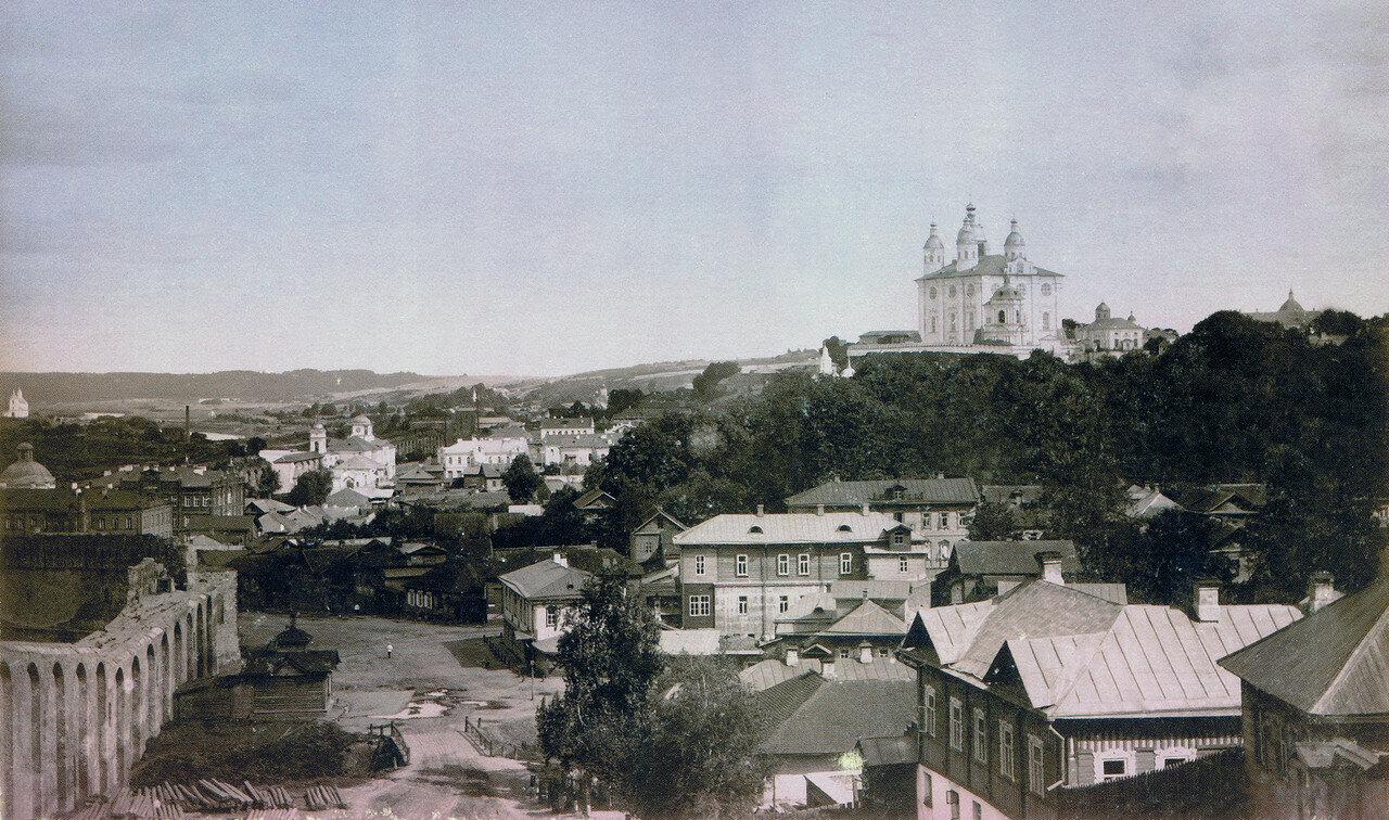 Вид Смоленска с Казанской горы. 1895