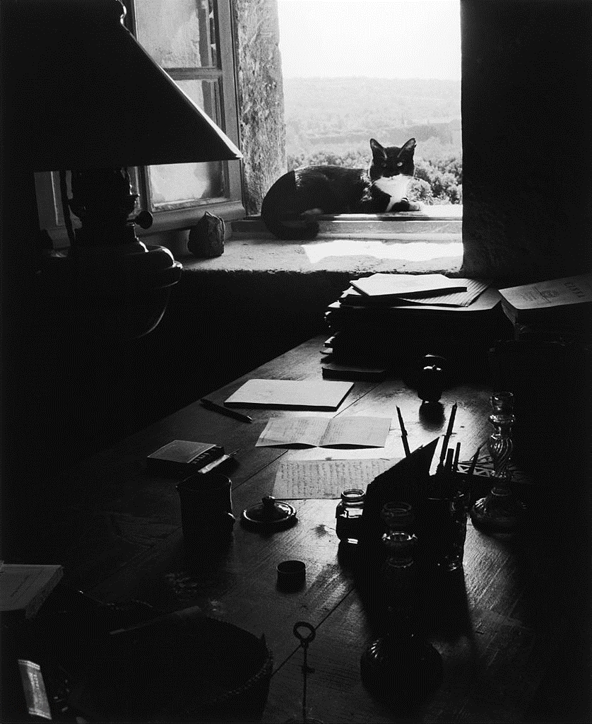 1954. В студии Жоржа Боржо