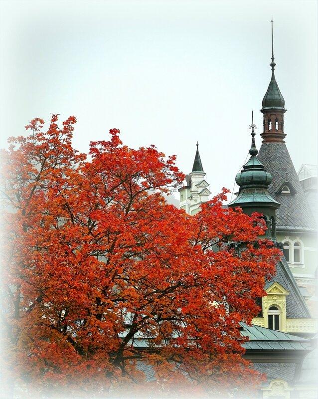 Осень  на европейском курорте