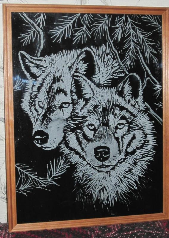 Картинки гравюры на стекло