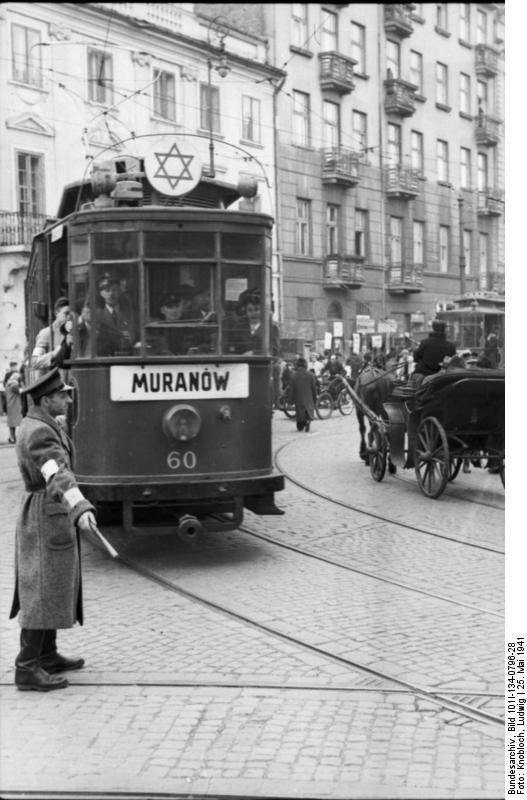 Ghetto Warschau, Ghettopolizist, StraЯenbahn