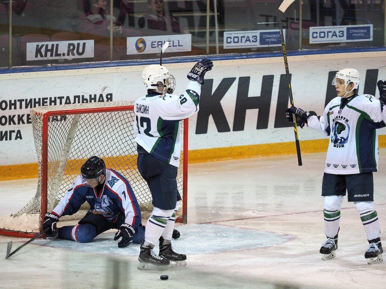 23Стальные лисы - Мамонты Югры 14.11.2016