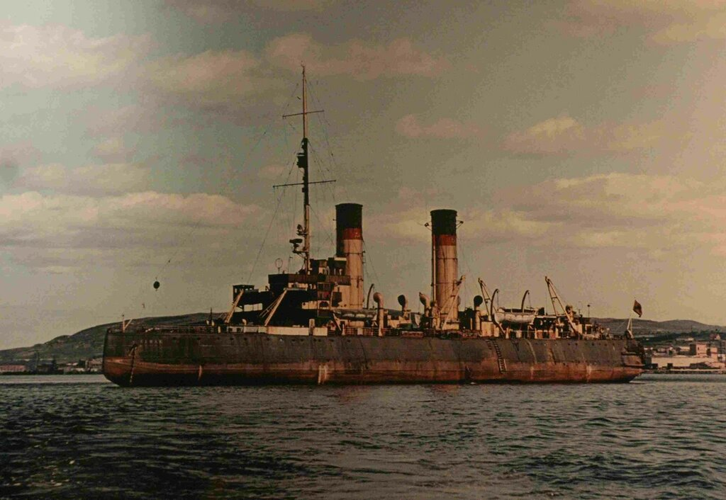 Один из последних снимков ледокола «Ермак». 1960-е годы..jpg