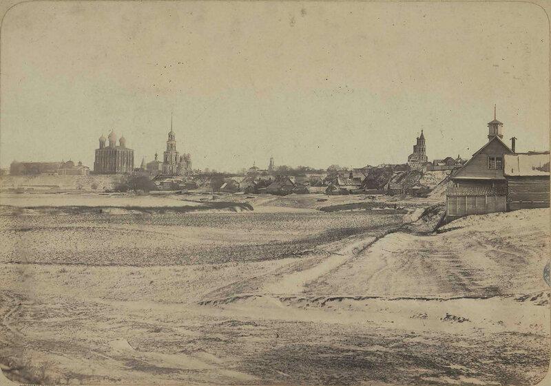 1863-68 Вид города Рязани с ветви железной дороги к реке Оке2.jpg